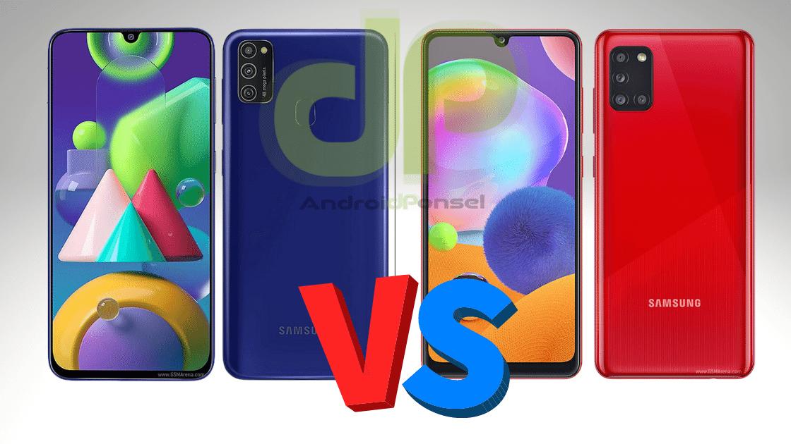 Perbandingan Samsung M21 vs A31