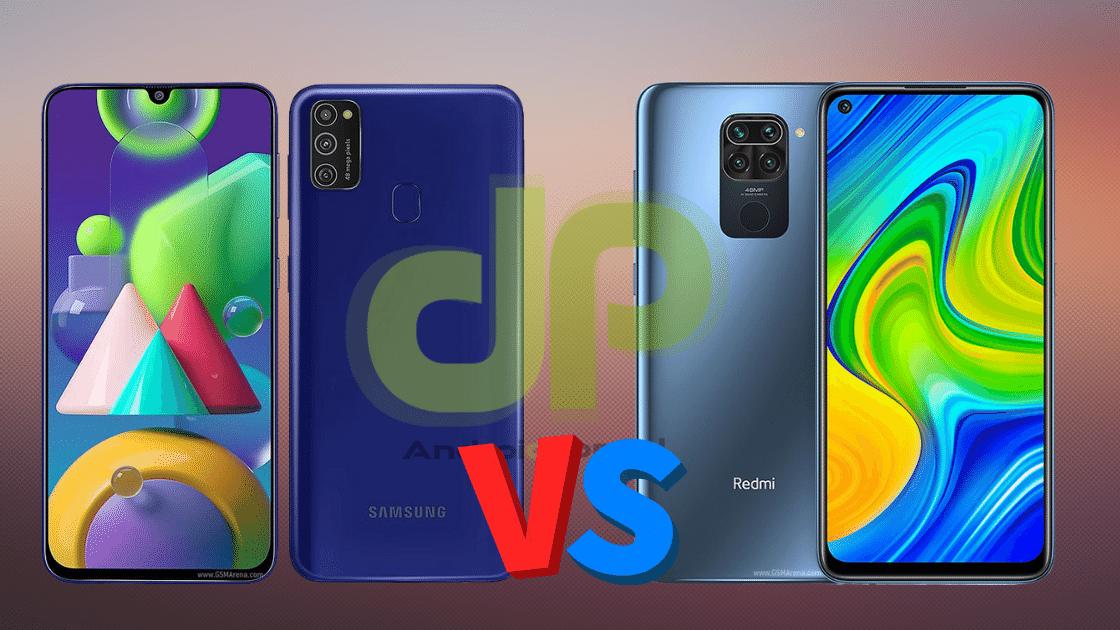 Perbandingan Samsung M21 vs Redmi Note 9