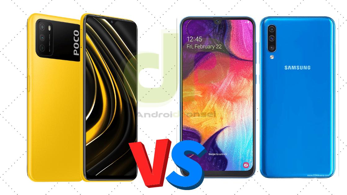 Poco M3 vs Samsung A50