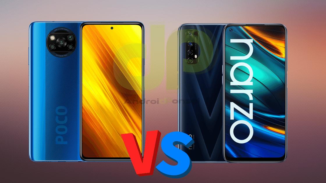 Poco X3 NFC vs Realme Narzo 20 Pro