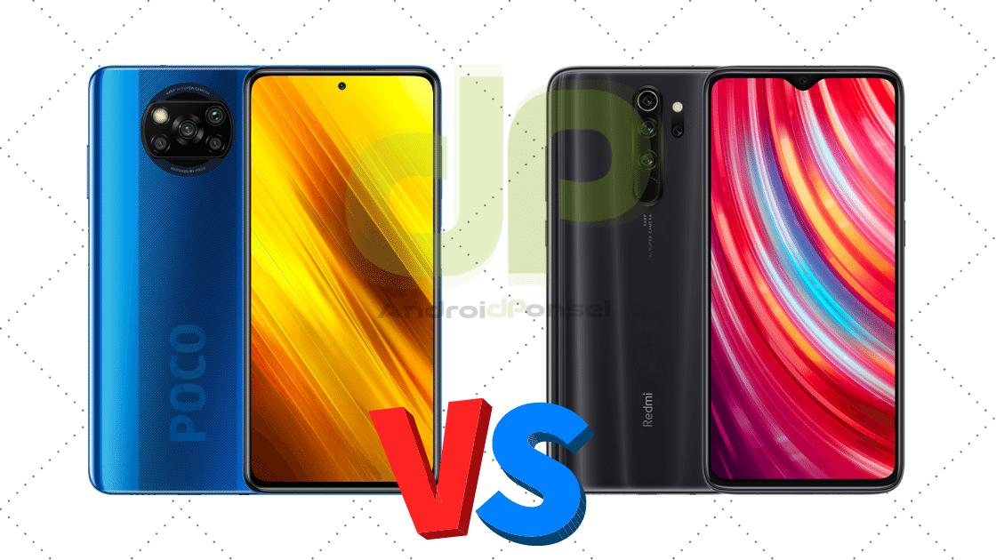 Poco X3 NFC vs Redmi Note 8 Pro