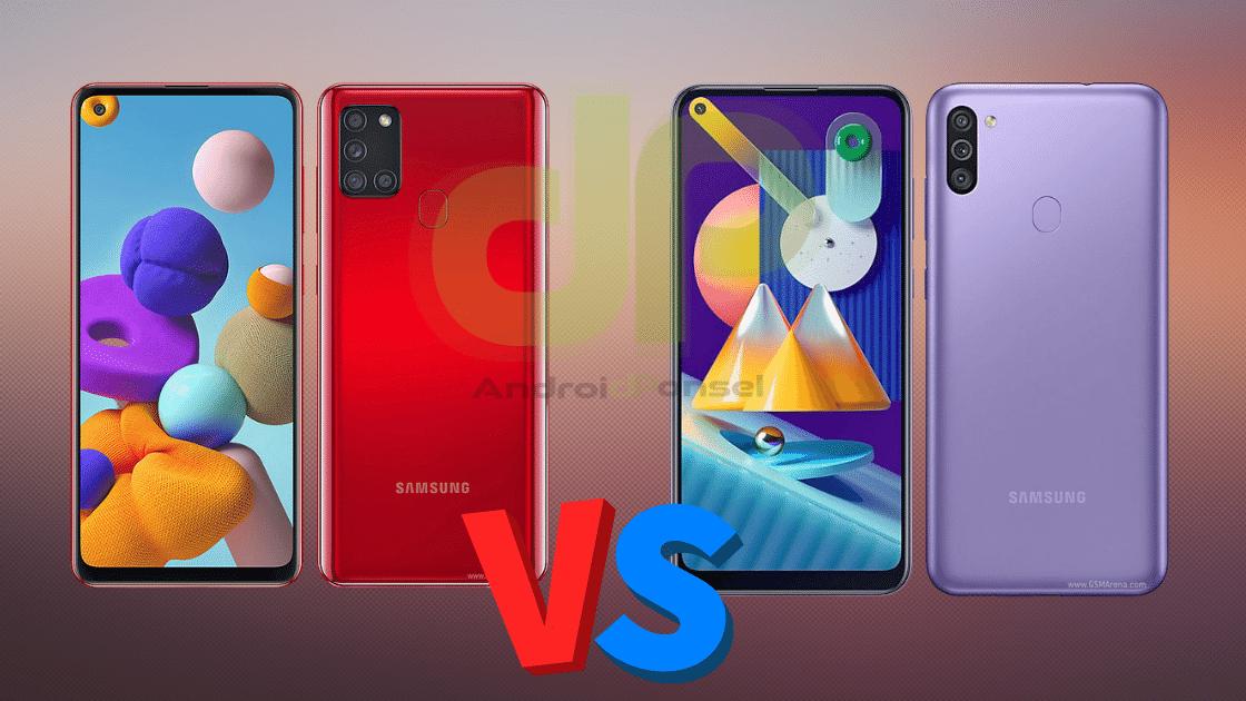Samsung A21s vs M11 (1)
