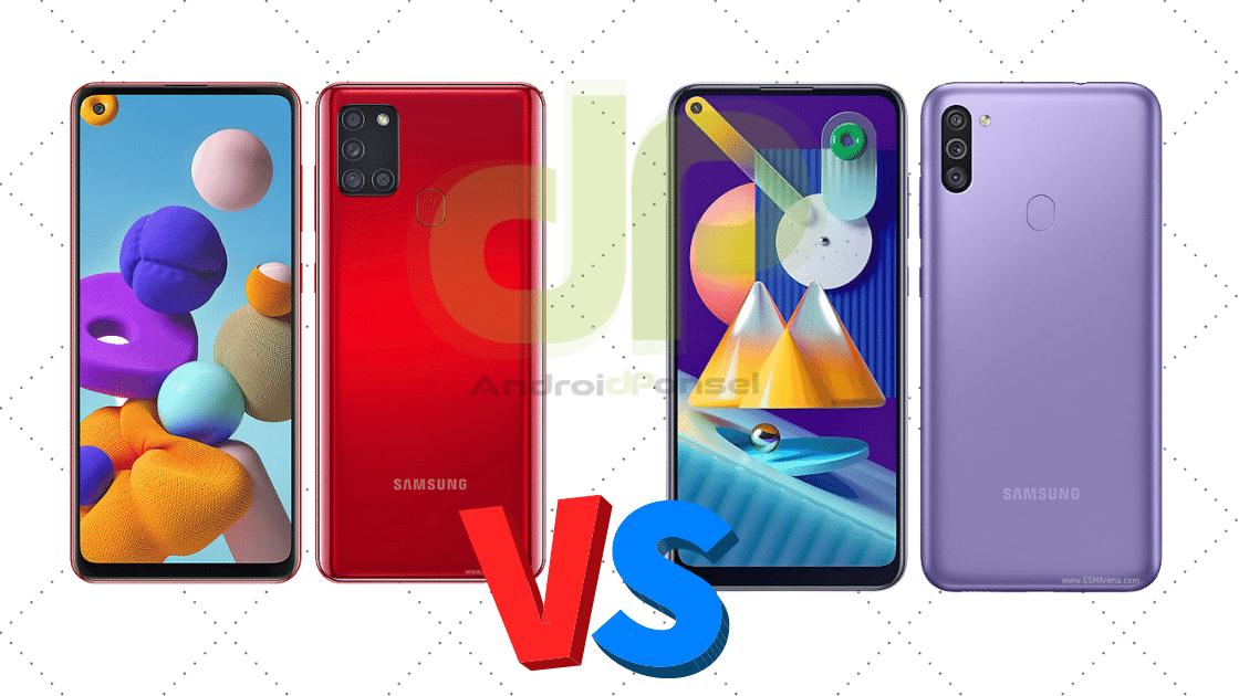 Samsung A21s vs M11