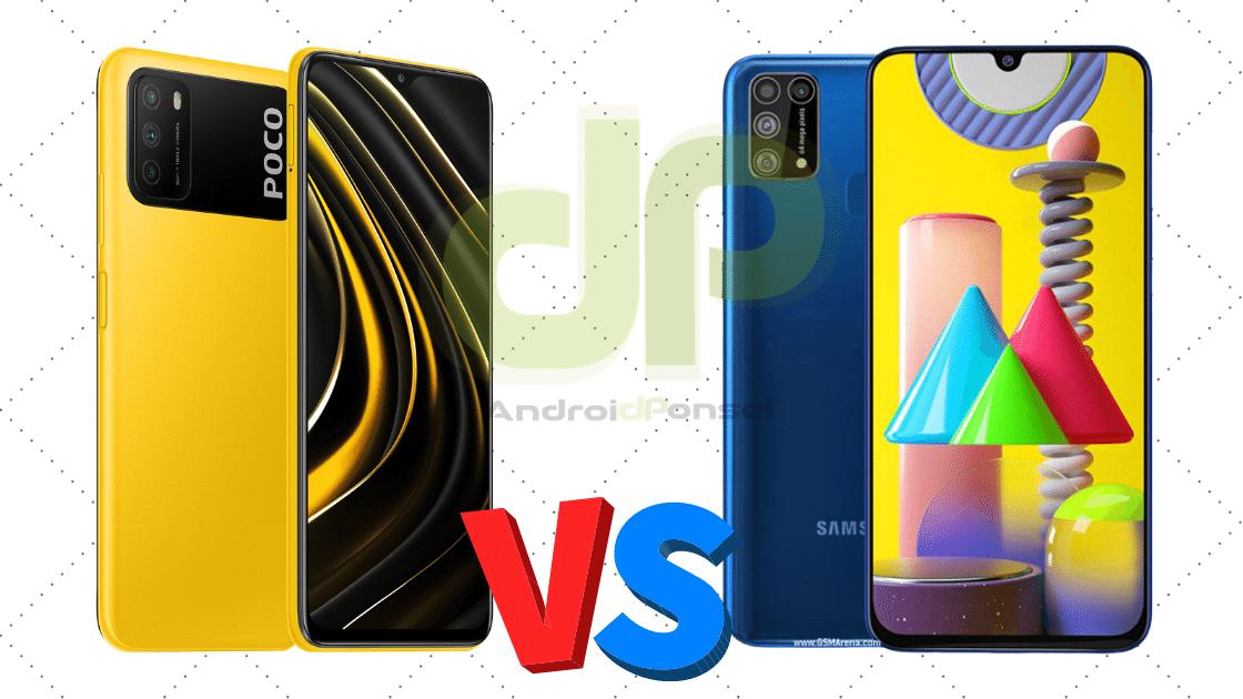 Perbandingan Poco M3 dan Samsung M31