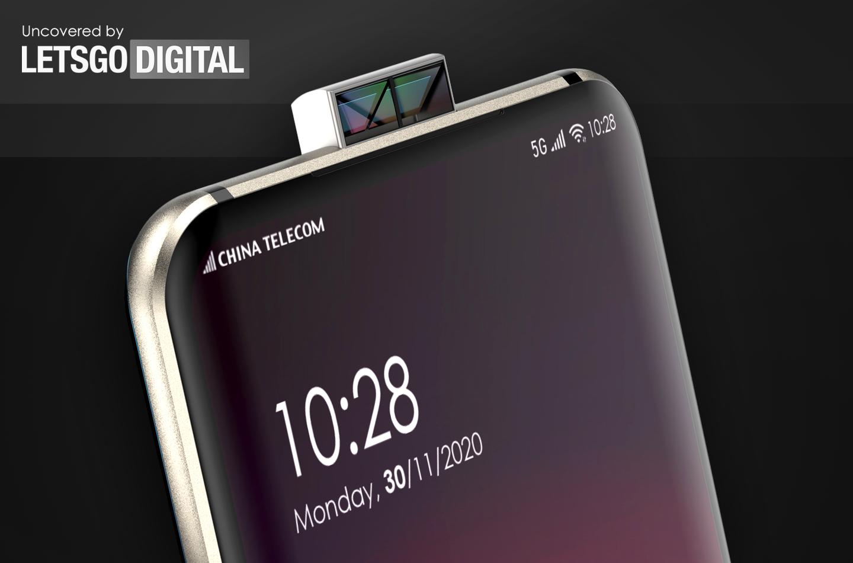 , teknologi terbaru Oppo mampu menyembunyikan lensa kamera belakang ponsel