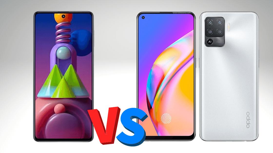 perbandingan OPPO F19 pro vs Samsung Galaxy M51
