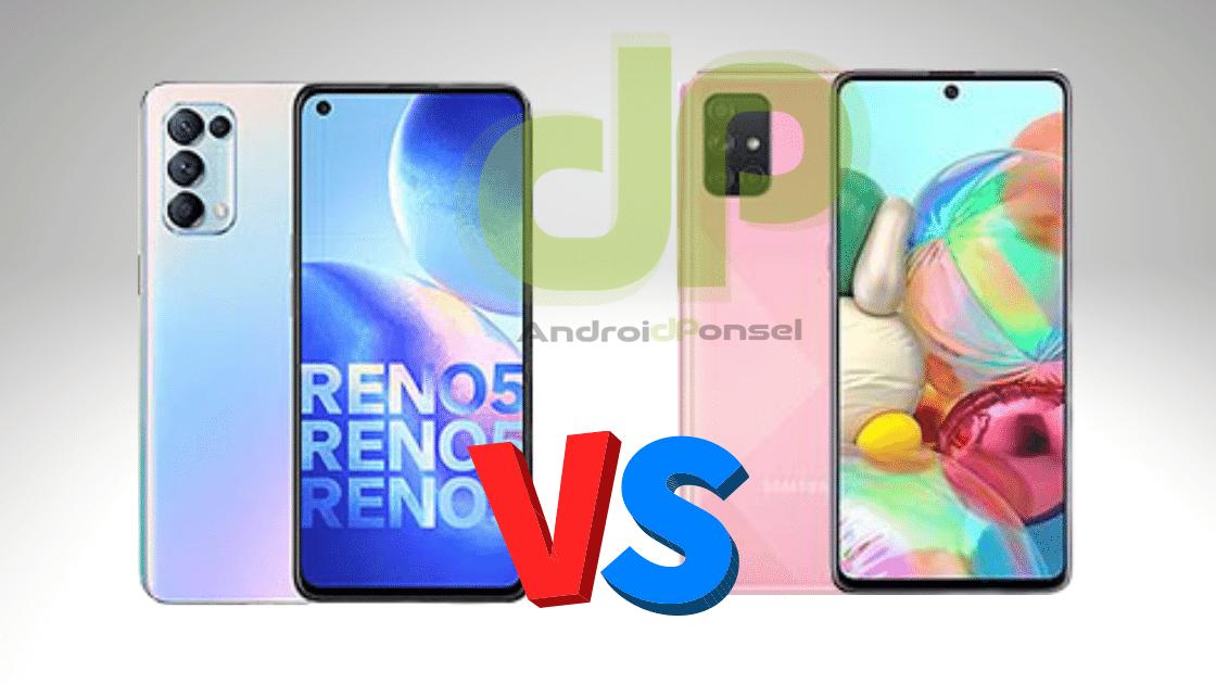 Oppo Reno 5 vs Samsung A71