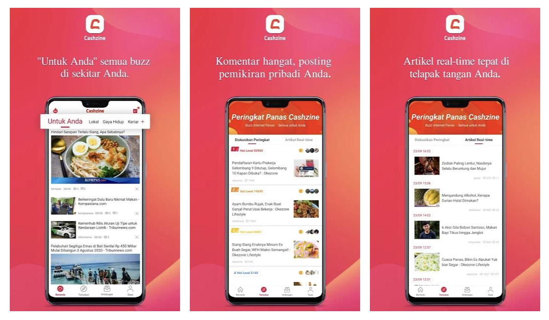 Aplikasi Penghasil Saldo Dana Gratis Tanpa Top Up