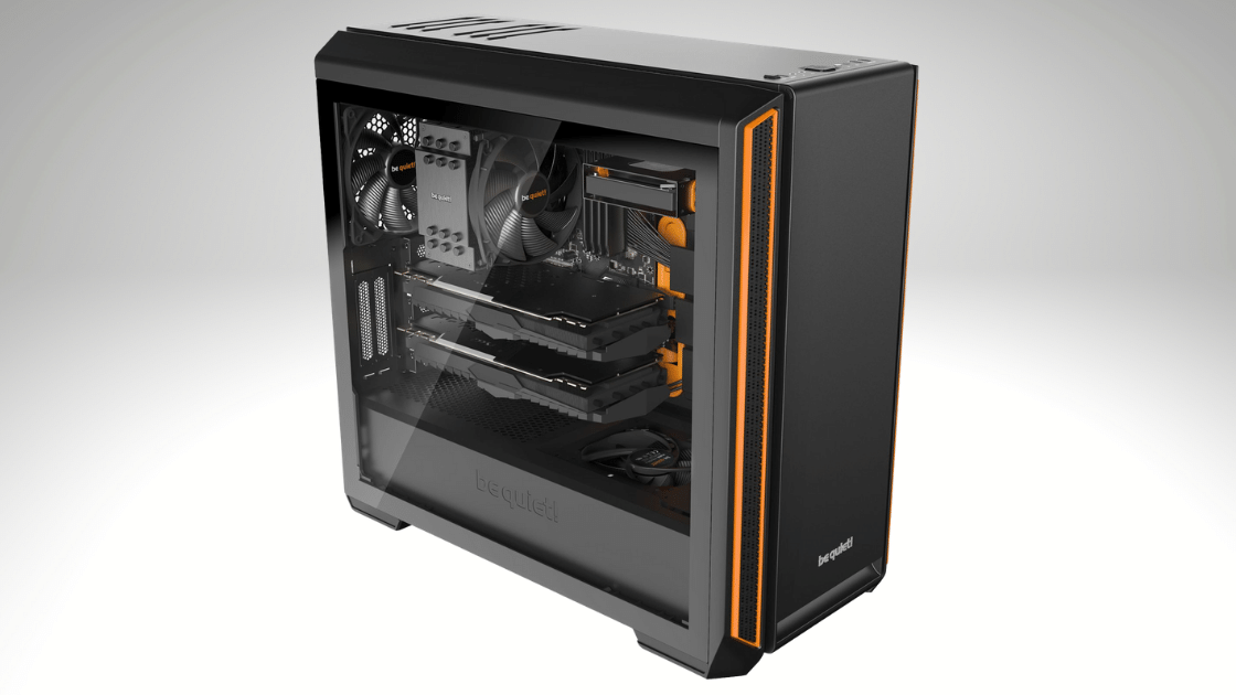 Be Quite! Gaming Case Silent Base 601