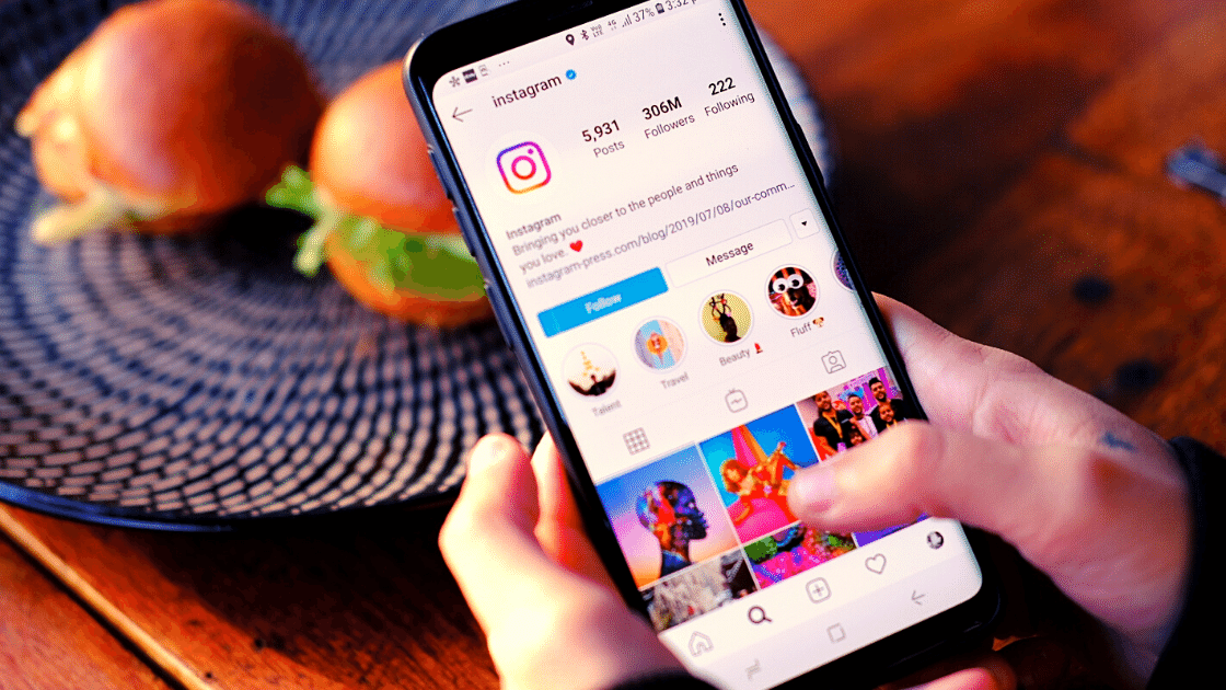 delete akun Instagram