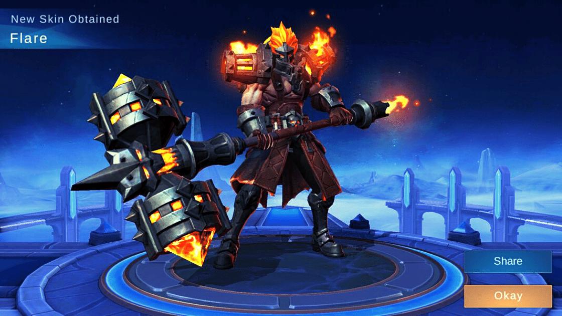 flare skin mobile legends