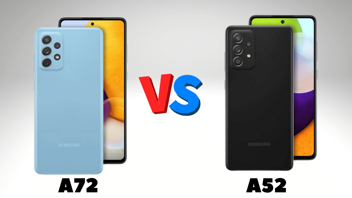 galaxy a72 vs a52