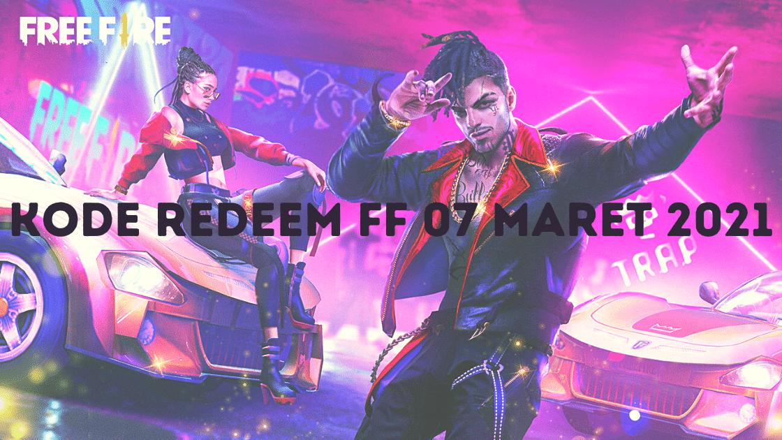 kode redeem FF 07 Maret 2021