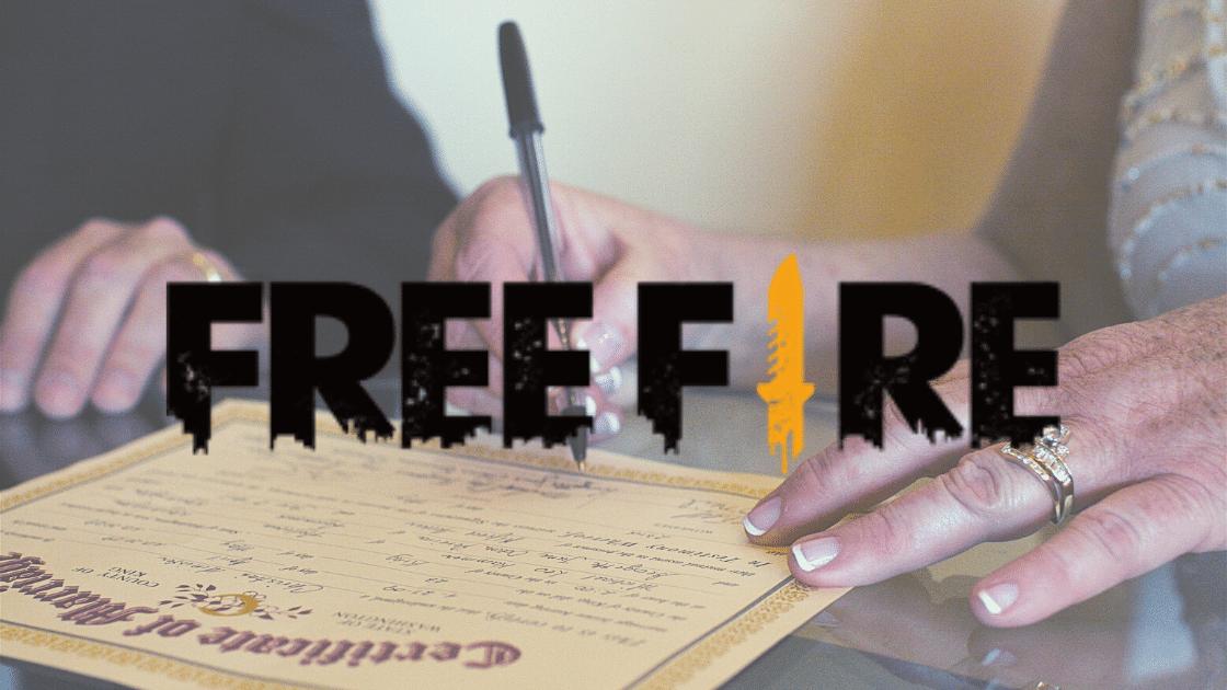 polosan sertifikat Free Fire