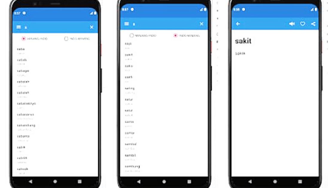 Aplikasi Translate Bahasa Padang