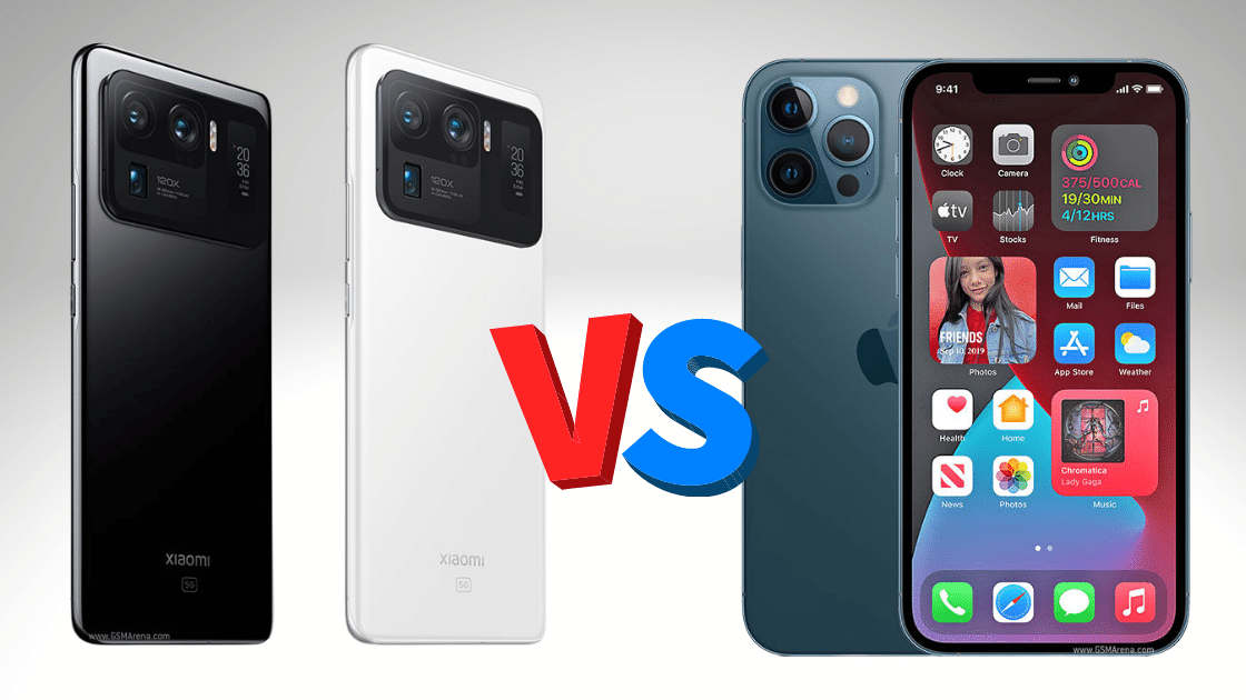 Mi 11 Ultra VS iPhone 12 Pro Max