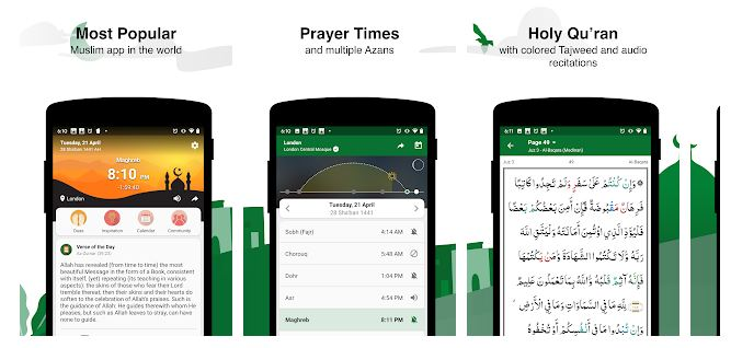 Aplikasi Jadwal Shalat
