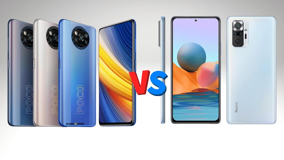 Poco X3 Pro vs Note 10 Pro