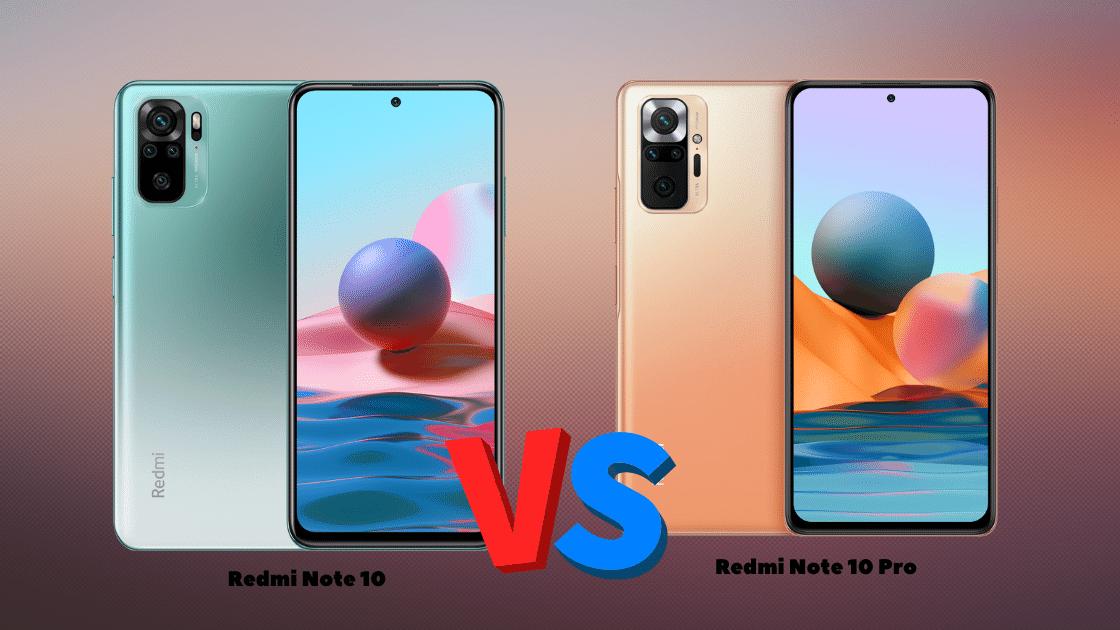 Perbandingan Spesifikasi Redmi Note 10 Vs Note 10 Pro