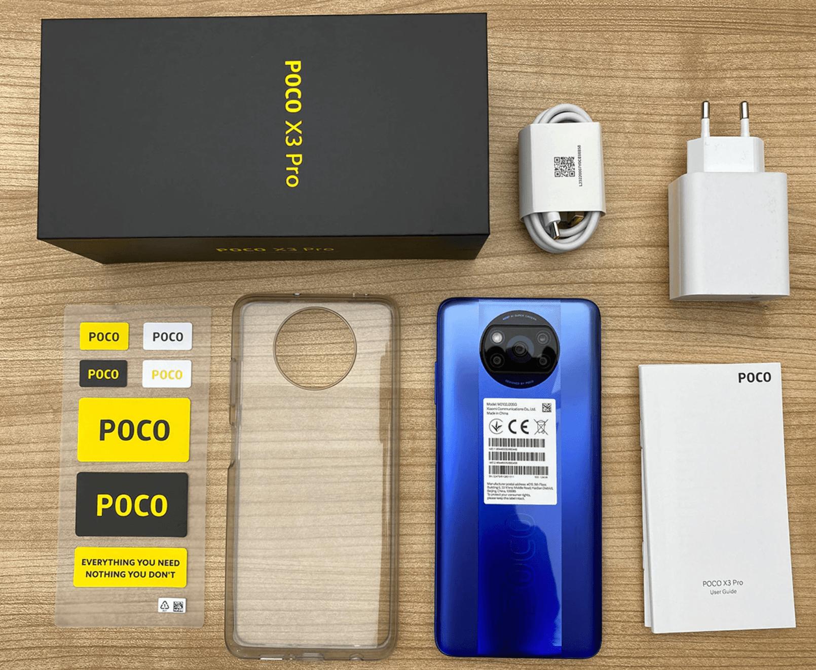 Paket Penjualan Poco X3 Pro