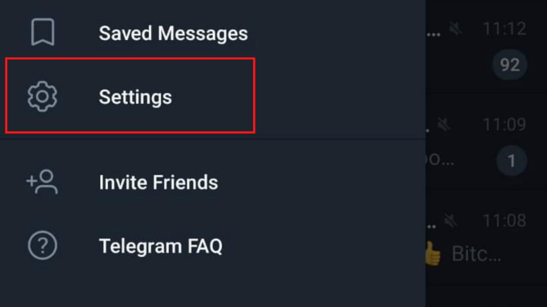 Setting Telegram