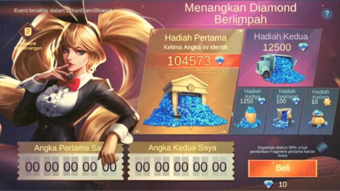 angka mega diamond Mobile Legends