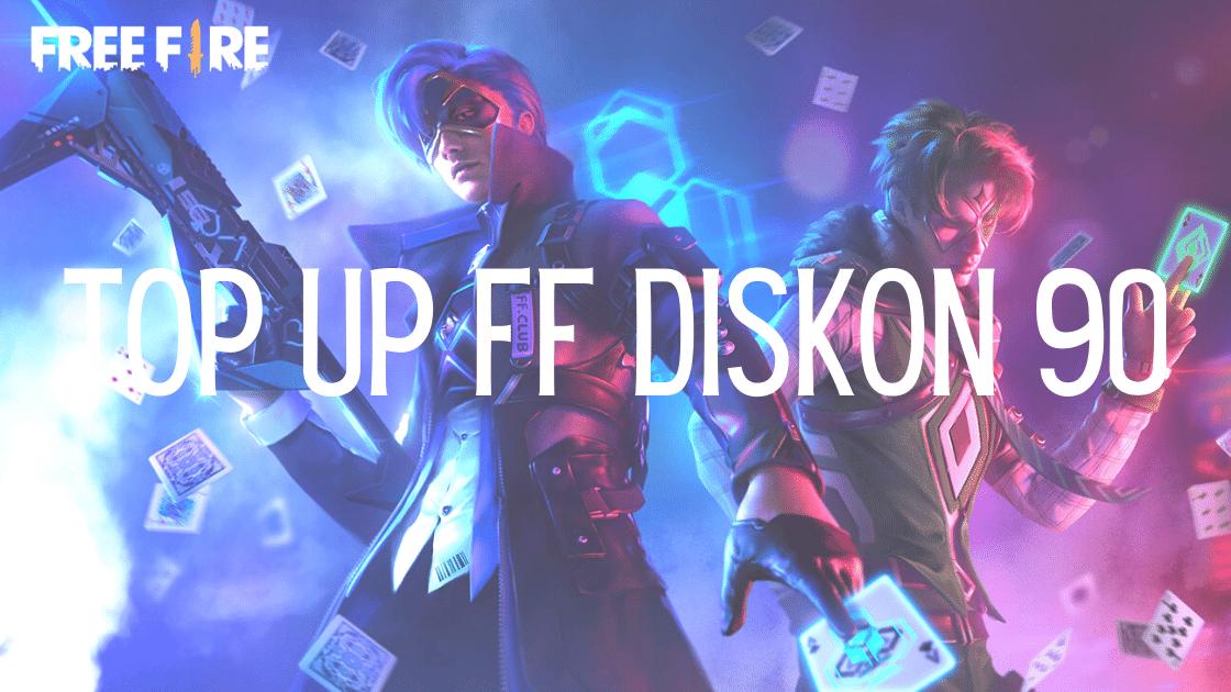 top up FF diskon 90