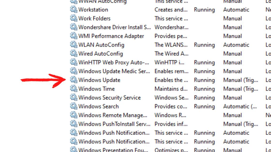 mematikan windows update permanen