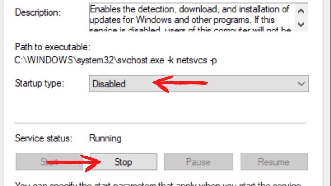 matikan update windows 10