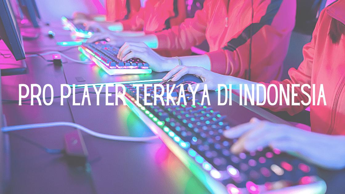 pro player terkaya di Indonesia
