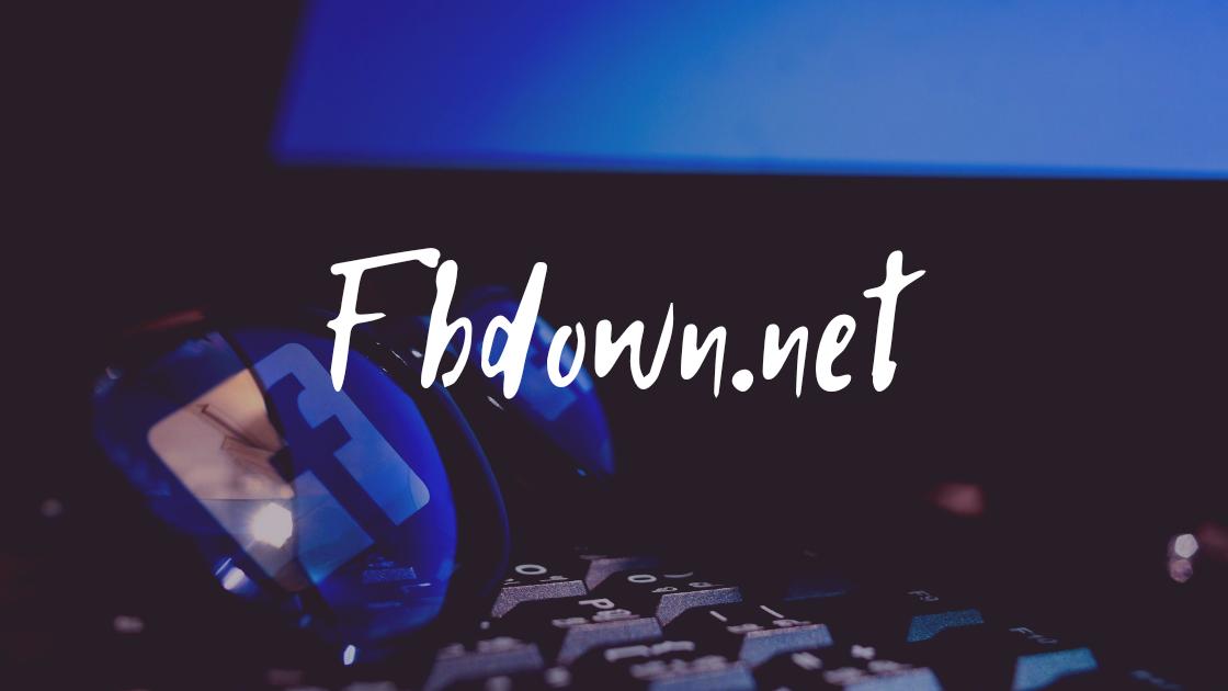 Cara Download Video Di Facebook Lewat PC