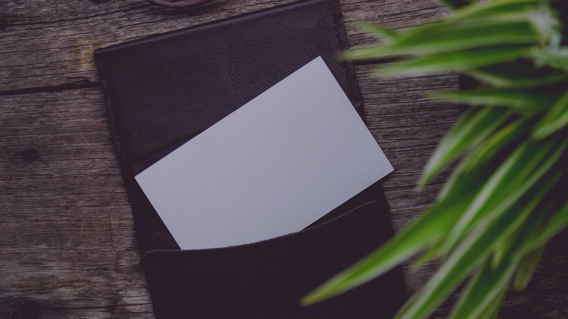 format oenulisan dan ukuran kartu nama