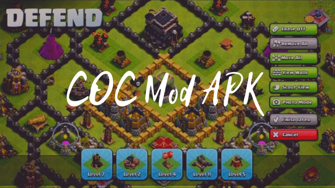 Penjelasan COC Mod APK