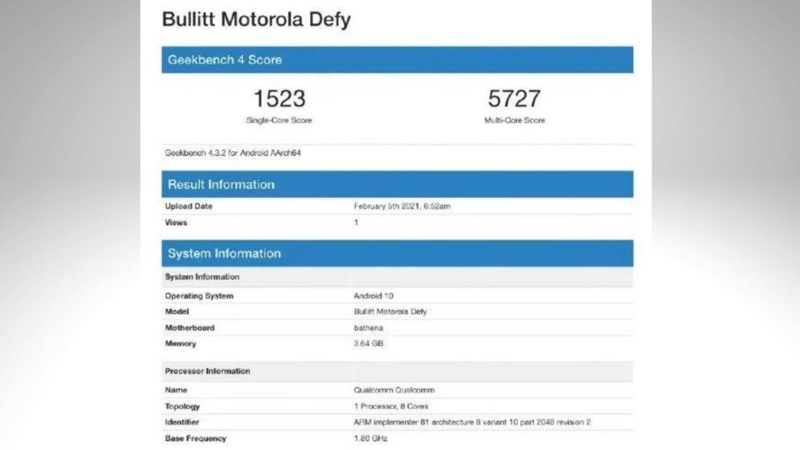 Motorola Defy Versi Baru