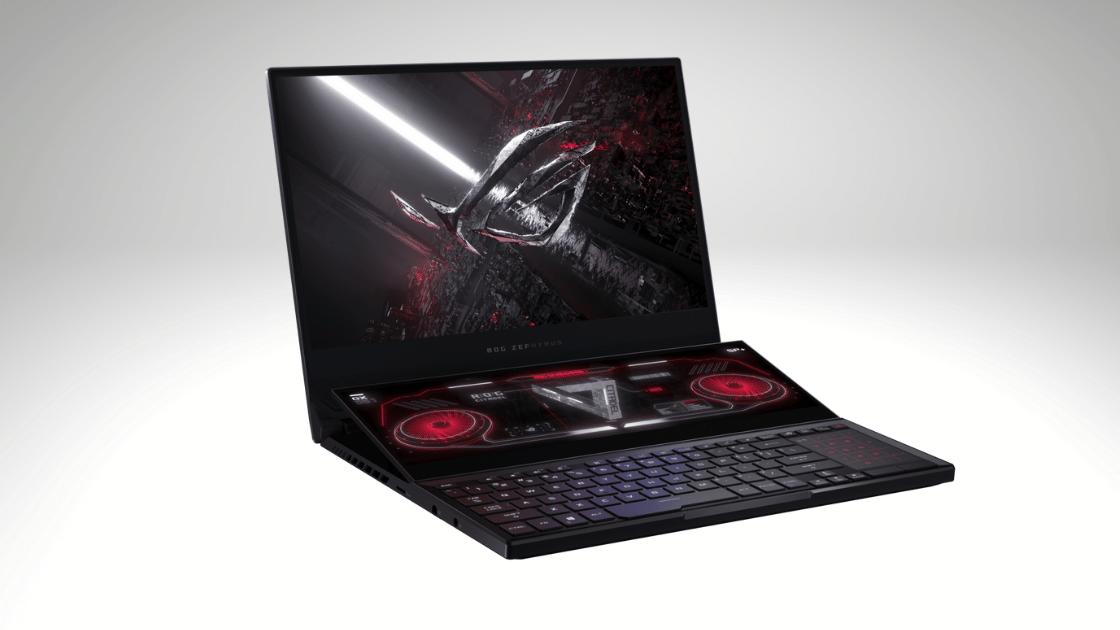 Laptop Terbaik 2021 ASUS ROG Zephyrus Duo 15 SE GX551