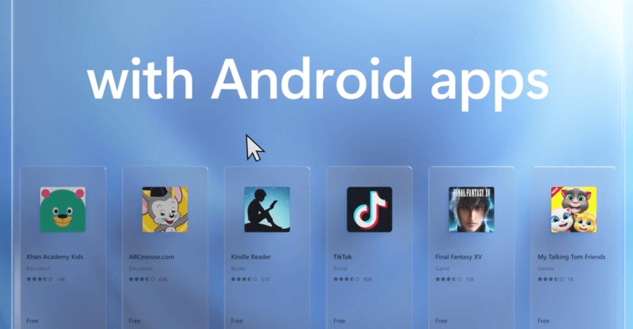 Windows 11 Install Aplikasi Android