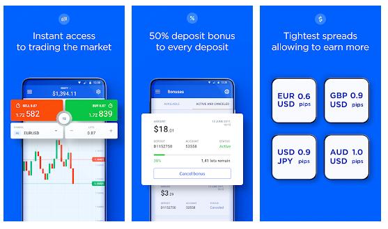 Aplikasi Trading OctaFx