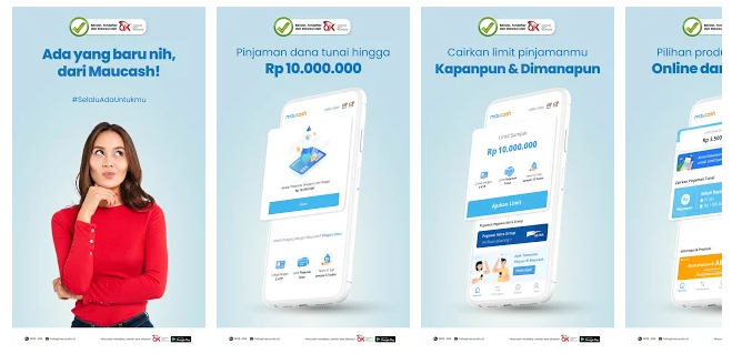 Maucash alternatif pinjaman online