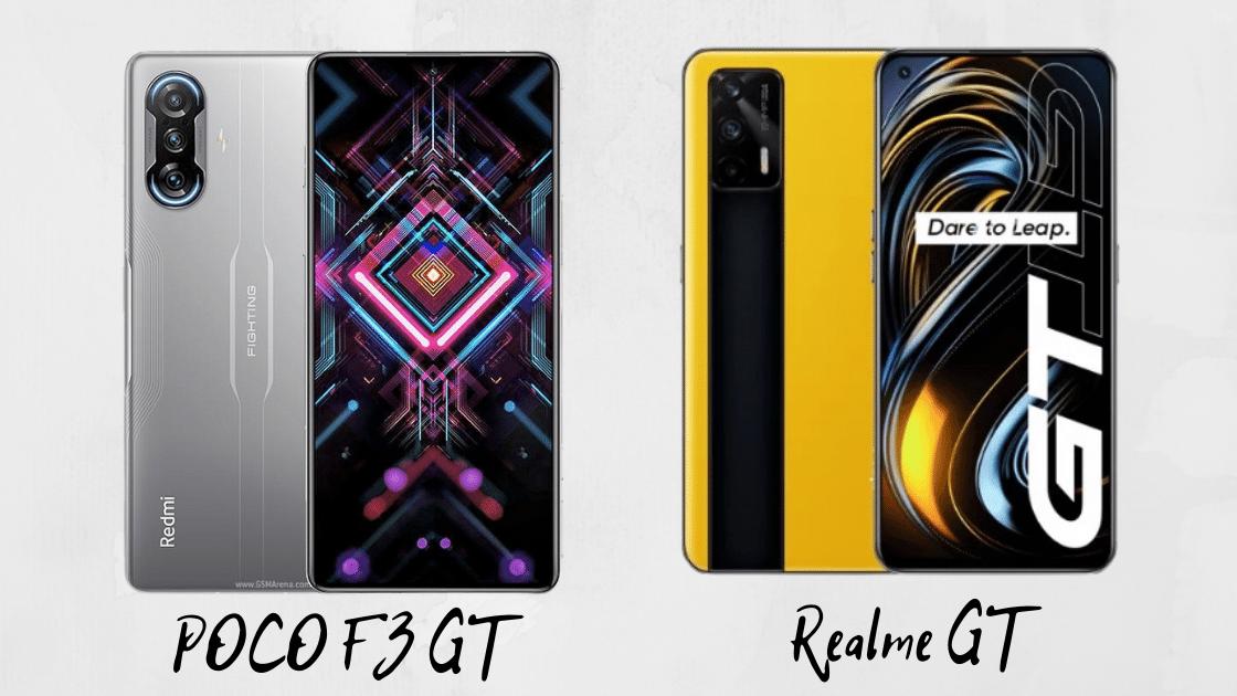 POCO F3 GT vs Realme GT
