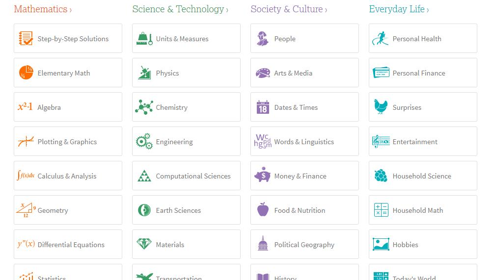 website yang bermanfaat bagi mahasiswa WolframAlpha.com