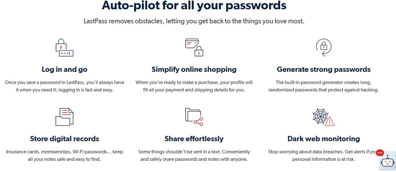 lastpast untuk mengamankan password yang terlupa