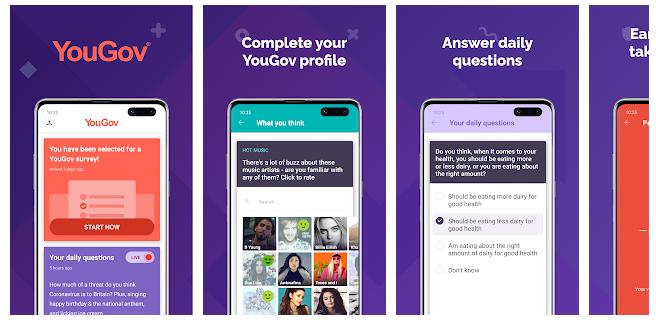 Aplikasi Survey Yougov