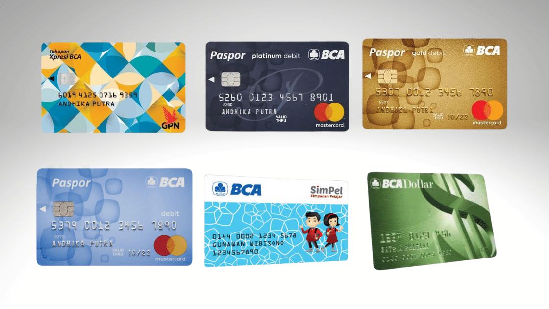Jenis Kartu ATM BCA