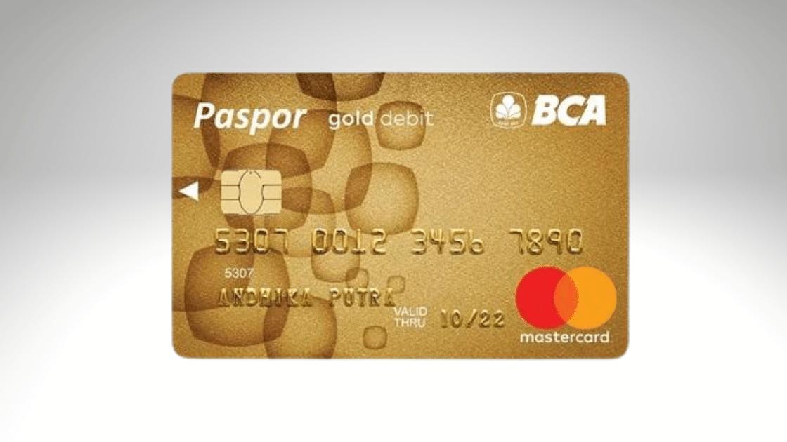 Jenis ATM BCA Gold