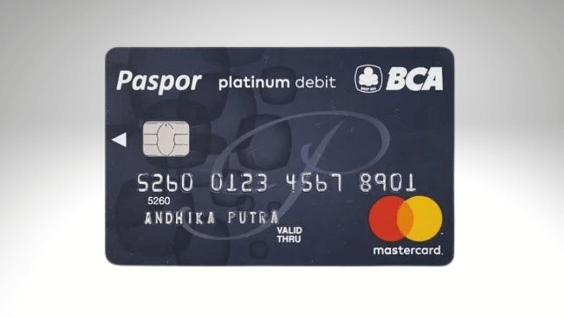 Jenis ATM BCA Platinum