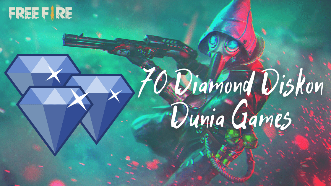 Free Fire 70 Diamond Diskon