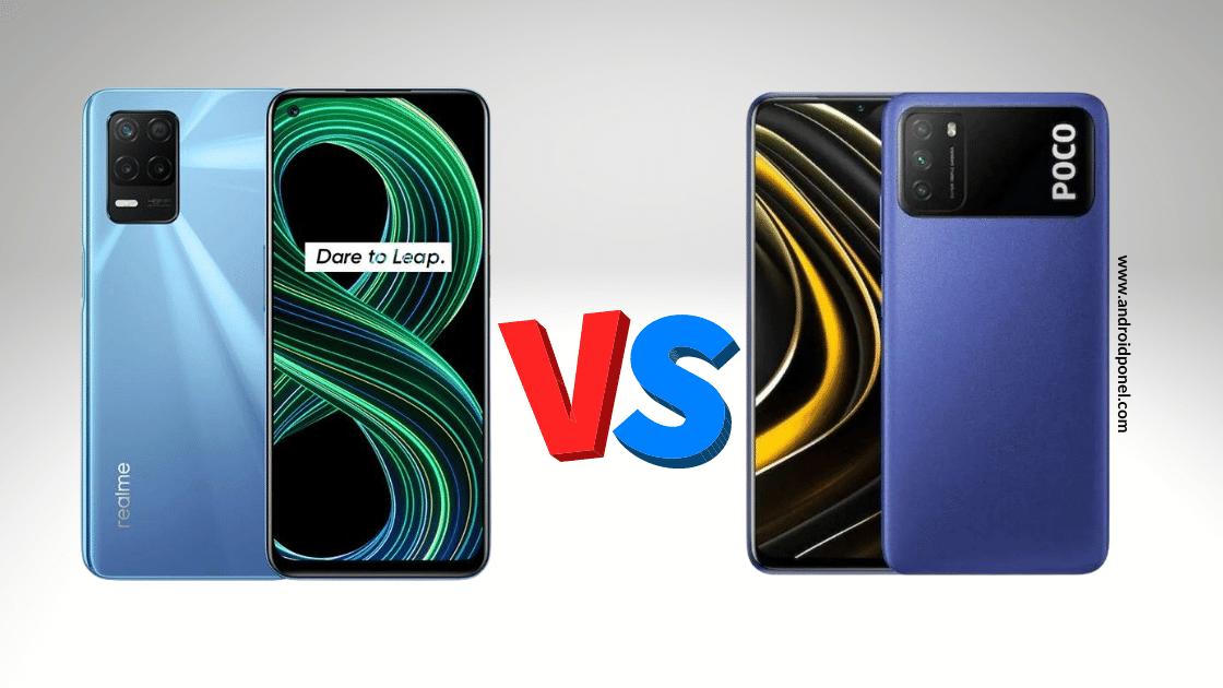 Realme 8 5G vs POCO M3