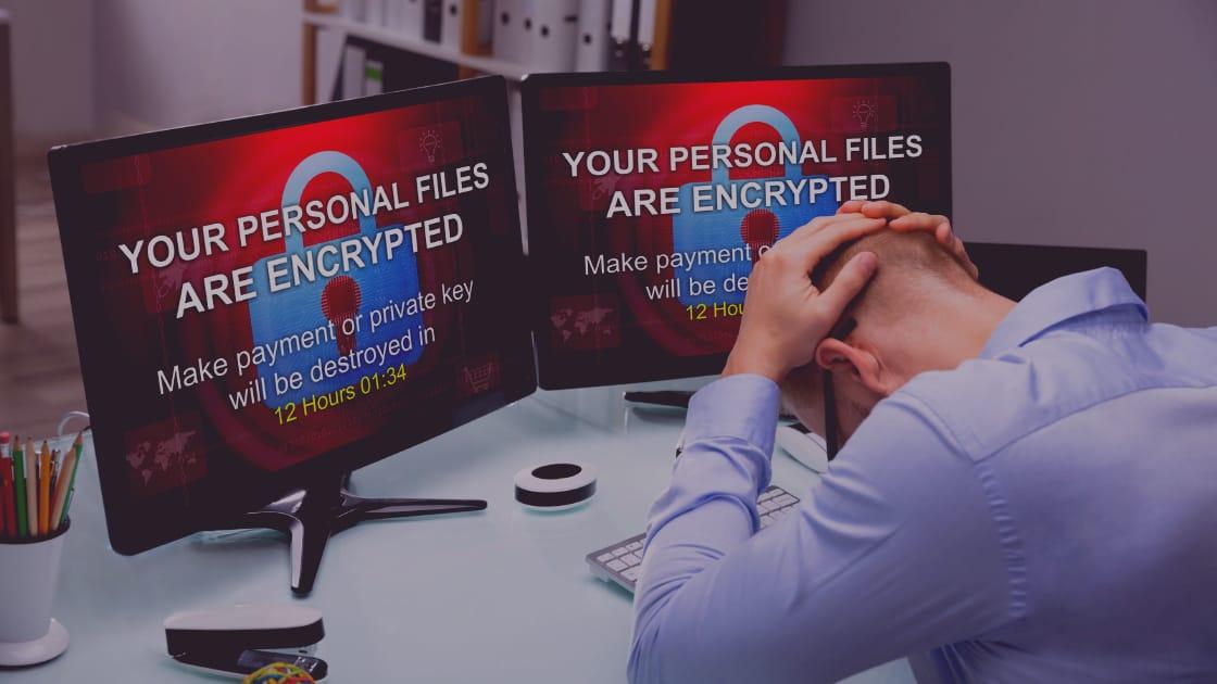 Pesan Tebusan Virus Ransomware okrf
