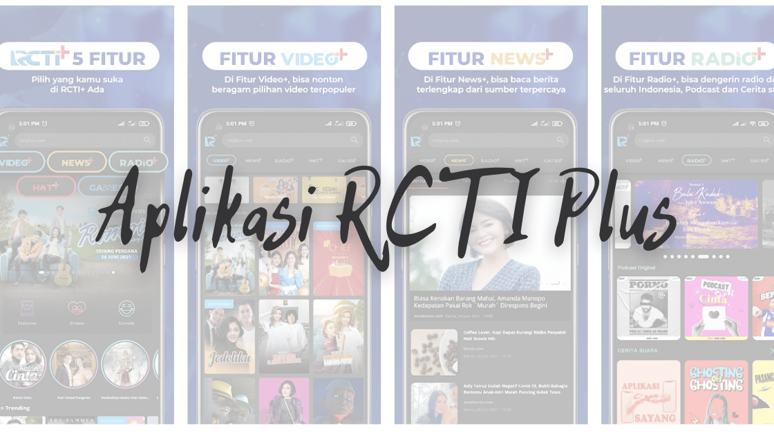 Aplikasi RCTI Plus