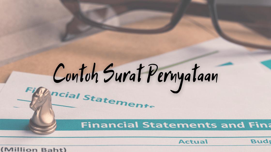 Contoh Surat Pernyataan (1)